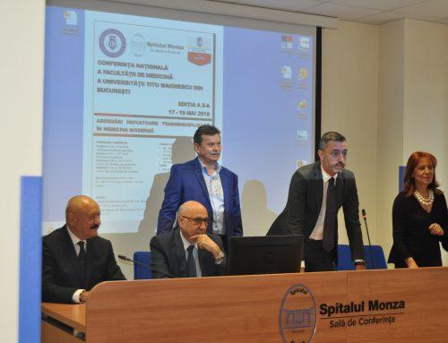 "Conferinta Nationala a Facultatii de Medicina a Universitatii ""Titu Maiorescu"" din Bucuresti, Editia a II-a"